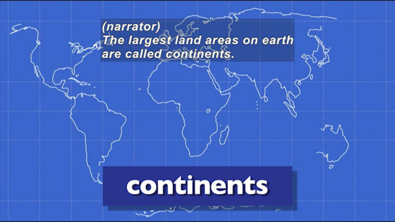 Still image from: Let's Talk Geography: 55 Geographical Terms Kids Need to Know