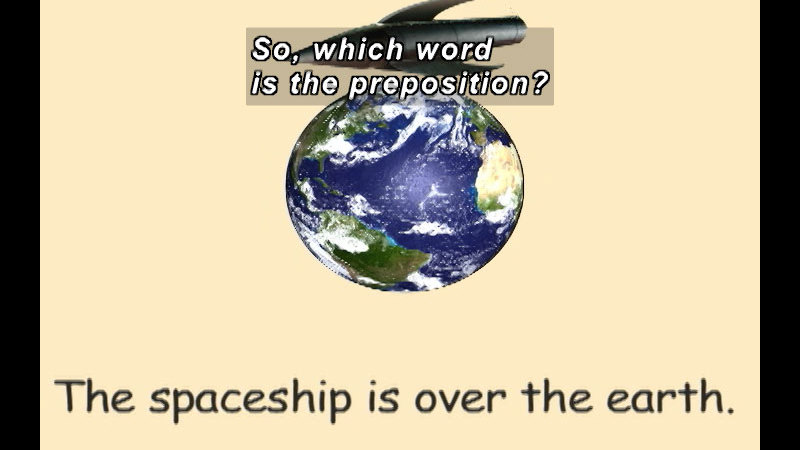Still image from: K-3 Prepositions