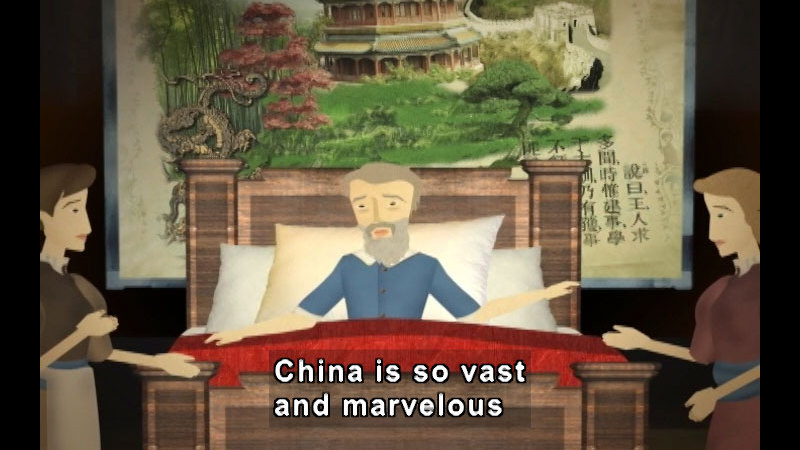 Still image from The Time Compass: Ancient China