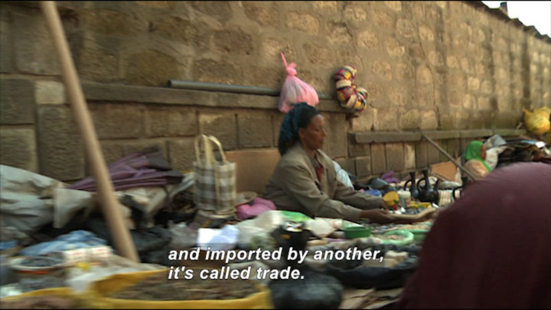 Still image from: Cultural Interdependence: Economy