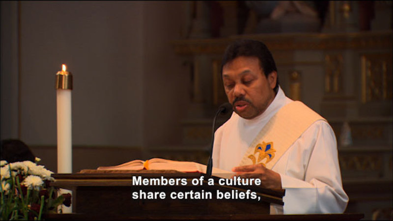 Still image from: Cultural Interdependence: Beliefs and Values