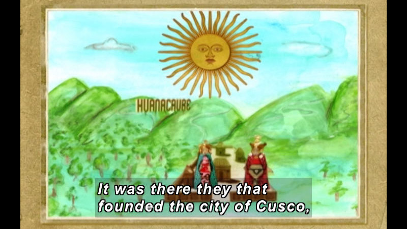 Still image from: The Time Compass: Incas and the Andean Cultures