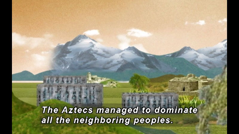 Still image from The Time Compass: The Aztec Empire