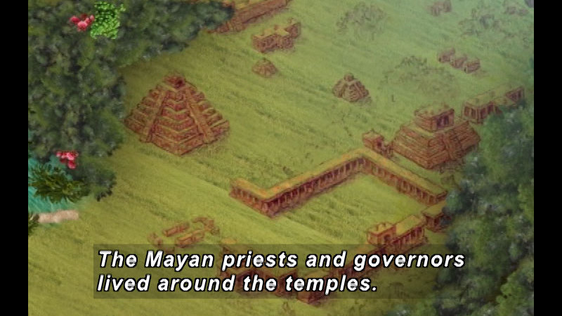 Still image from: The Time Compass: The Mayas