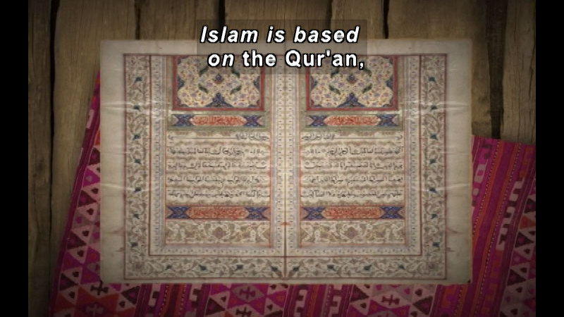 Still image from: The Time Compass: Islam