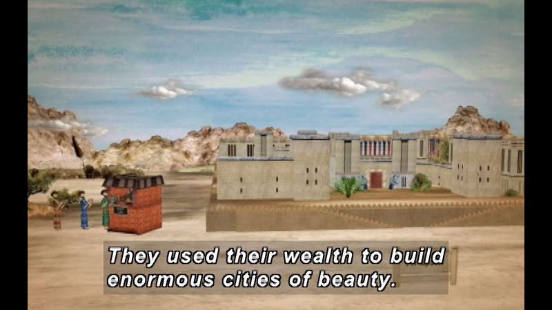 Still image from: The Time Compass: Persia