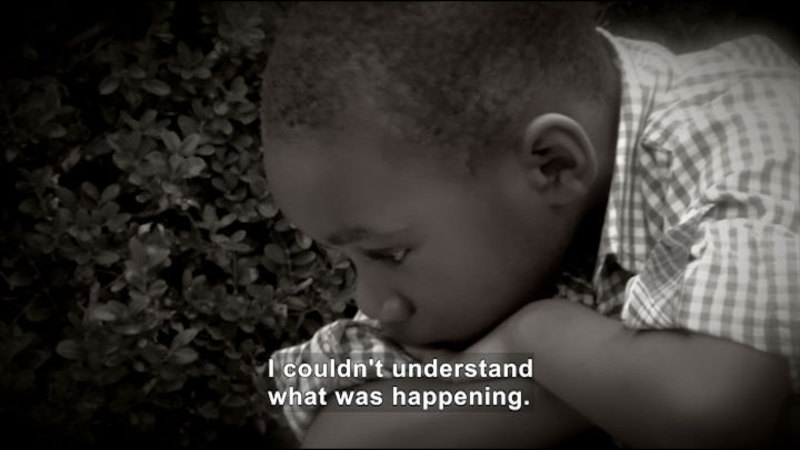 Still image from: Getting Through It: Kids Talk About Divorce