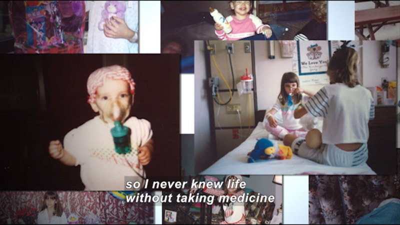 Still image from: Living With Genetic Disorders