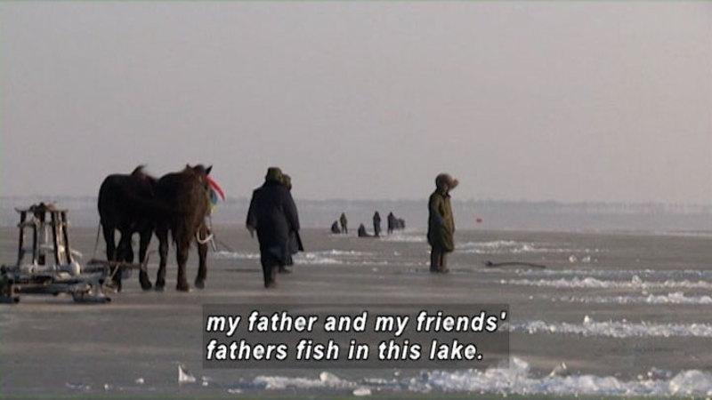 Still image from: China: Children of Chagan Lake