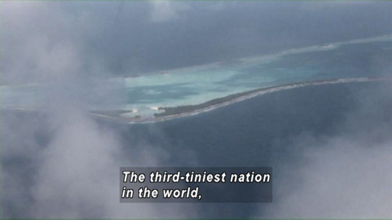 Still image from: Tuvalu: Children of the Islands