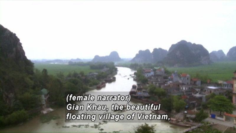 Still image from: Vietnam: Children of the Floating Village