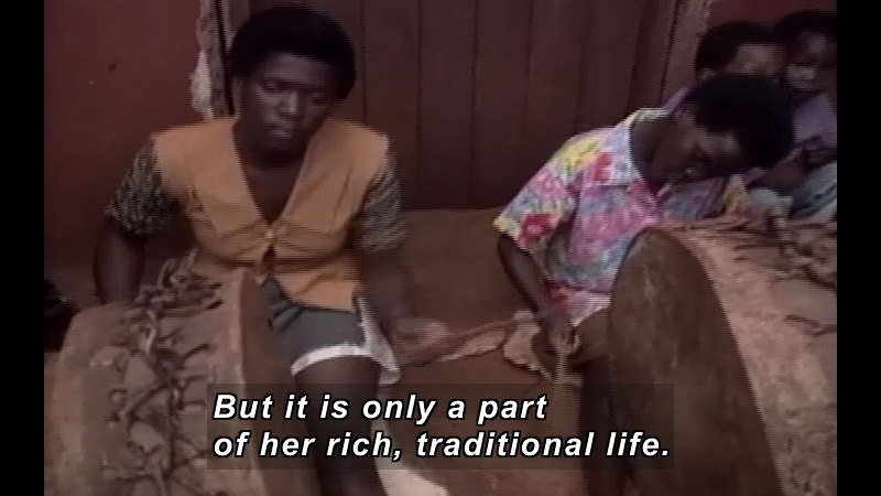 Still image from: Swaziland: Living With Ancestors