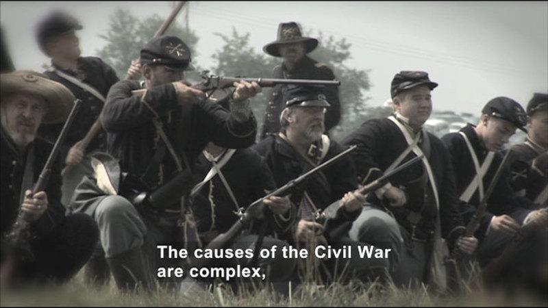 Still image from: Social Studies Video Vocab: Civil War