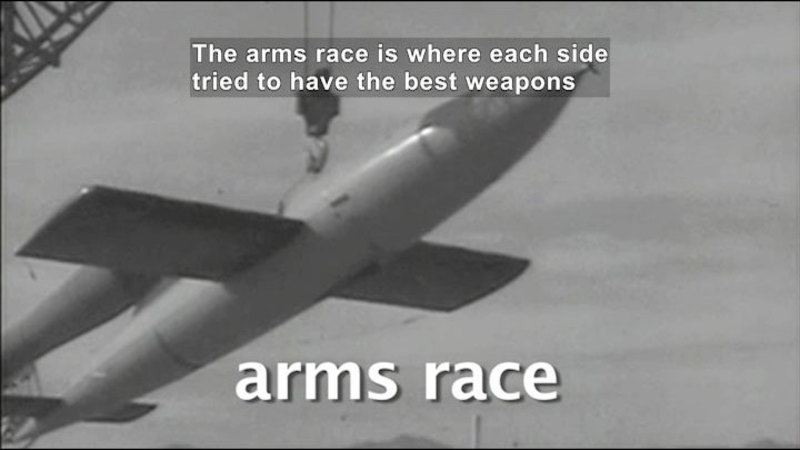 Still image from: Social Studies Video Vocab: Cold War