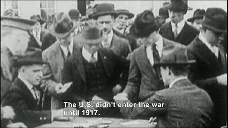 Still image from: Social Studies Video Vocab: World War I