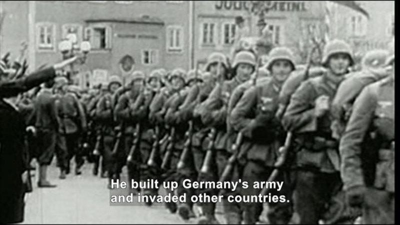 Still image from: Social Studies Video Vocab: World War II