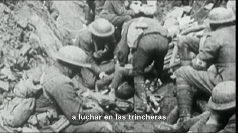 Still image from: Social Studies Video Vocab: World War I (Spanish)