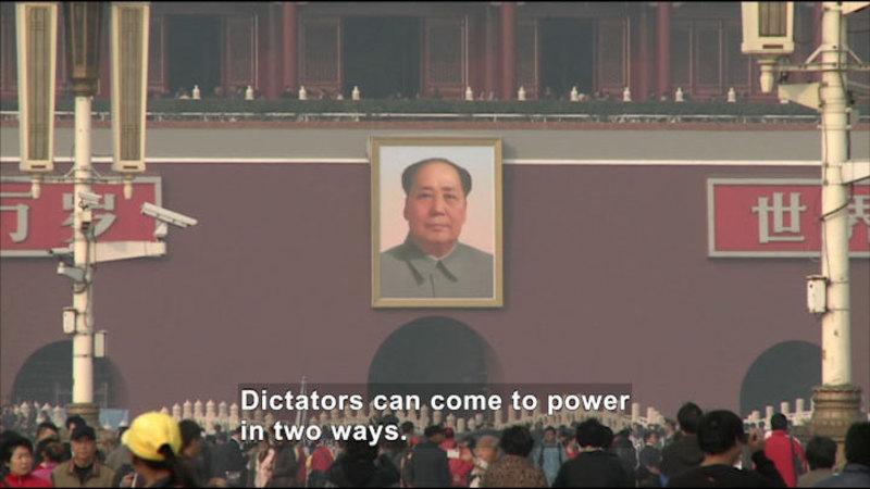 Still image from: Social Studies Video Vocab: Dictatorship