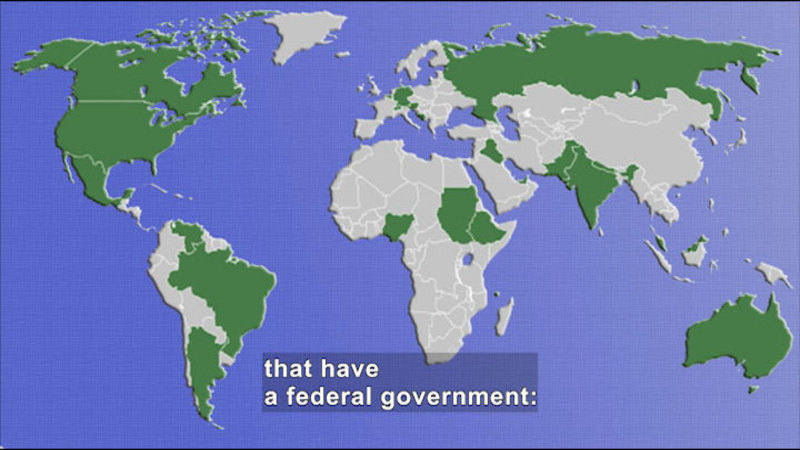 Still image from: Social Studies Video Vocab: Federal Government