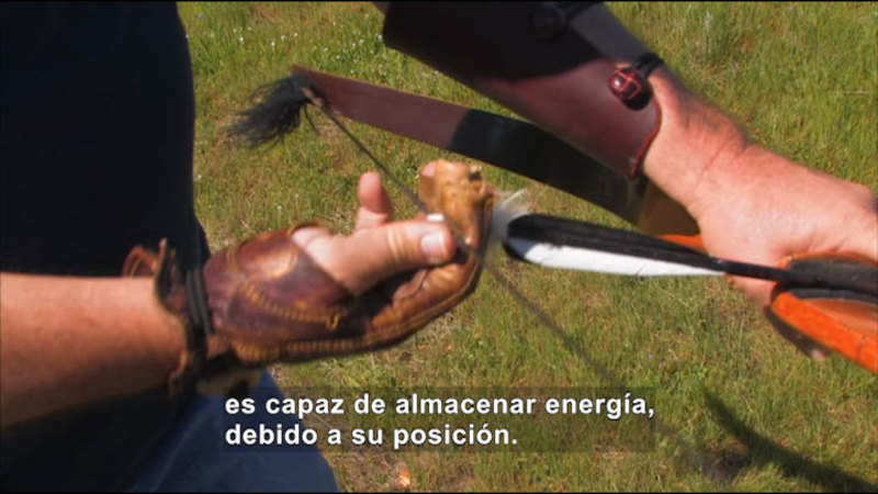 Still image from Science Video Vocab: Potential Energy (Spanish)