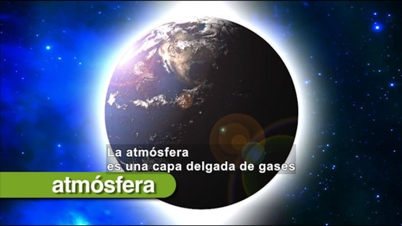 Still image from Science Video Vocab: Air (Spanish)