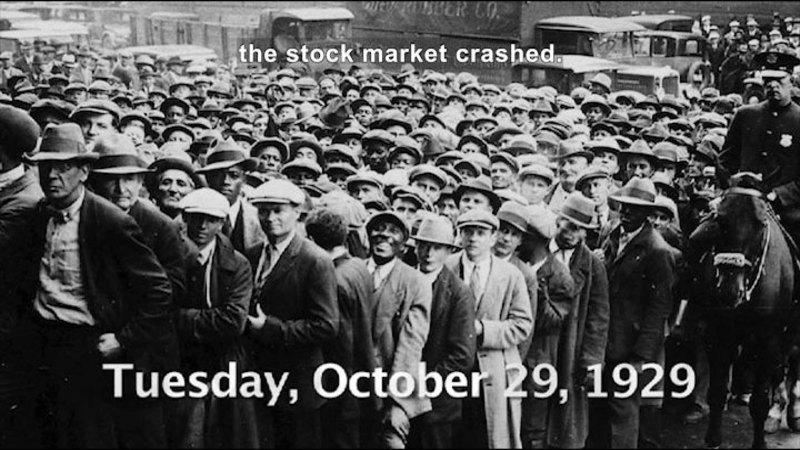 Still image from: Social Studies Video Vocab: Great Depression