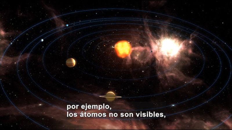 Still image from Science Video Vocab: Model (Spanish)