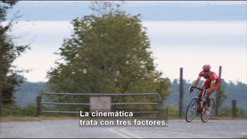 Still image from Science Video Vocab: Kinematics (Spanish)