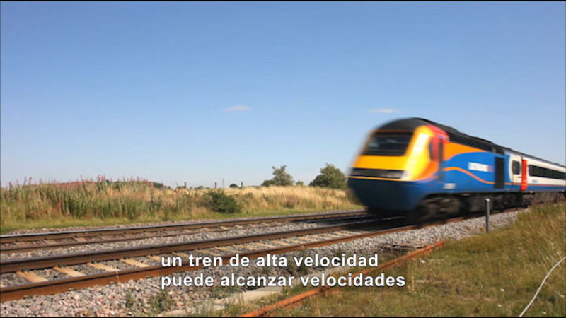 Still image from Science Video Vocab: Velocity (Spanish)