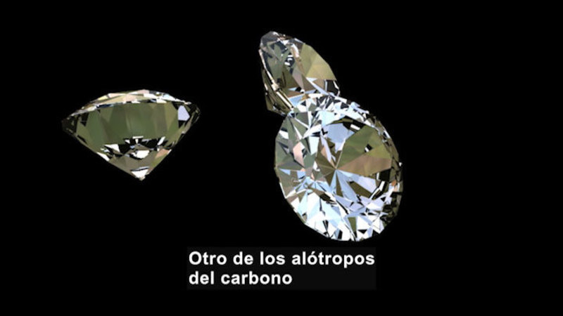 Still image from Science Video Vocab: Allotrope (Spanish)