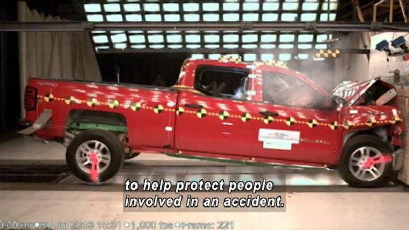 Still image from: Transportation: Automotive Safety Innovations