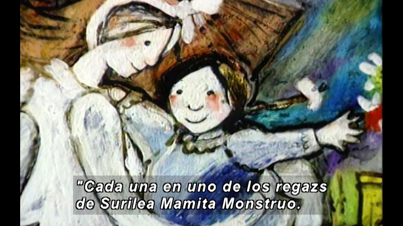 Still image from Kool Books: Mom The Monster (Spanish)