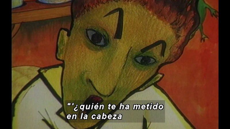 Still image from Kool Books: Stories To Play (Spanish)