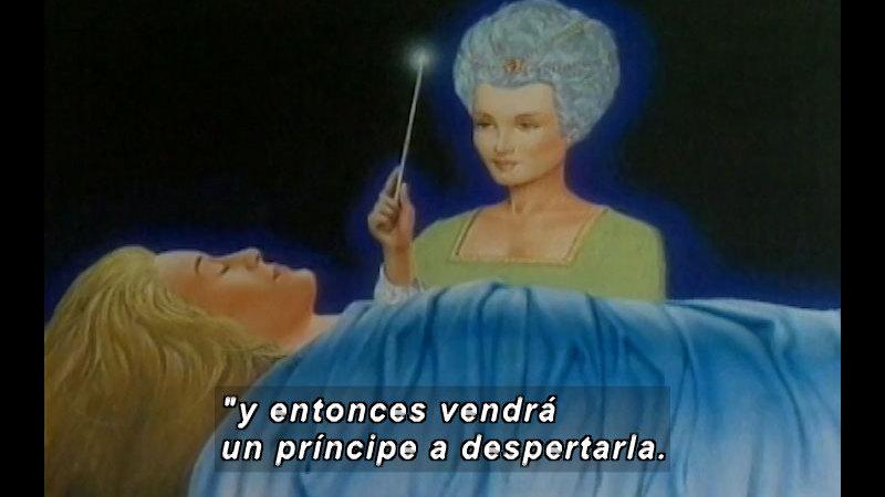 Still image from: Kool Books: Unhappy Stories (Spanish)