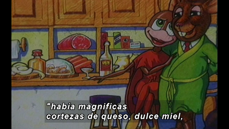 Still image from Kool Books: The Coackroach And The Tooth Fairy (Spanish)