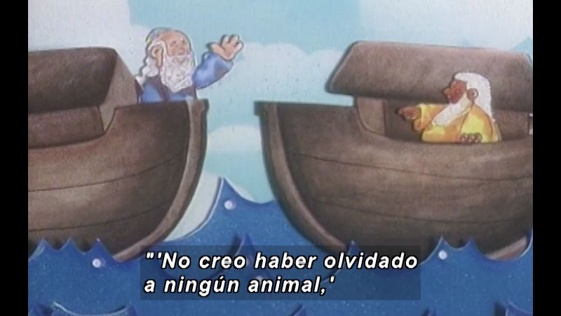 Still image from: Kool Books: He Was Not The Only Noah (Spanish)