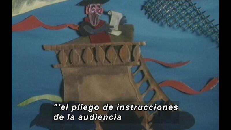 Still image from Kool Books: The Return Voyage (Spanish)