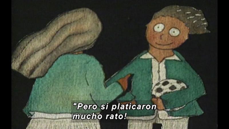 Still image from Kool Books: The Secrets Of Margarita (Spanish)