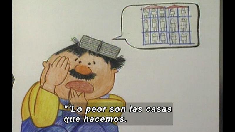 Still image from Kool Books: Momo (Spanish)