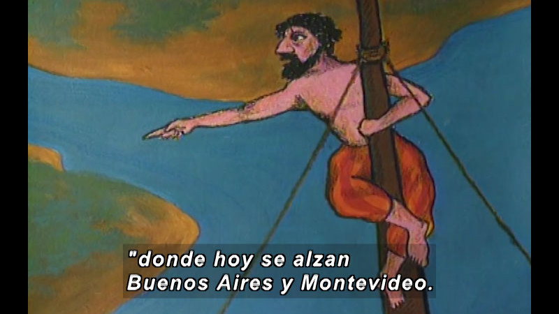 Still image from Kool Books: The Magallanes' Journey (Spanish)