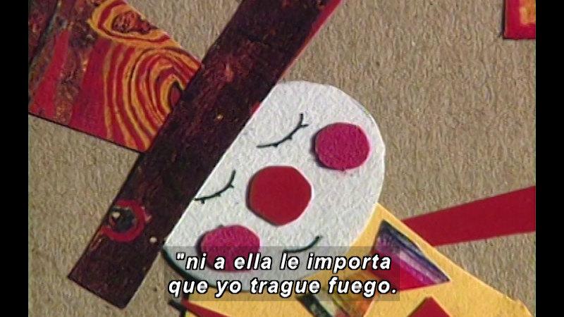 Still image from Kool Books: Tightrope (Spanish)