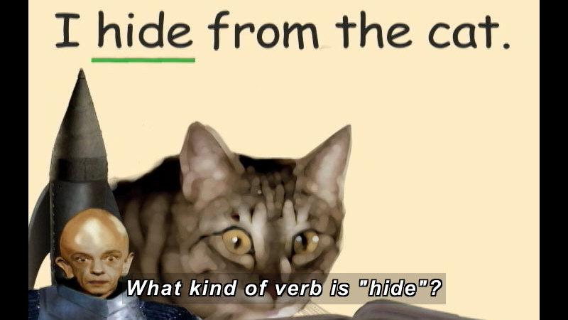 Still image from: K-3 Verbs: Review