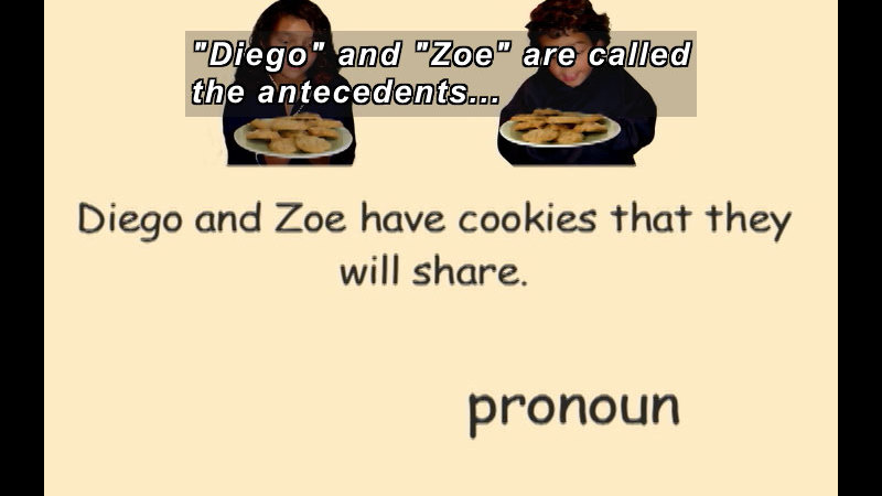 Still image from: K-3 Pronouns And Antecedents