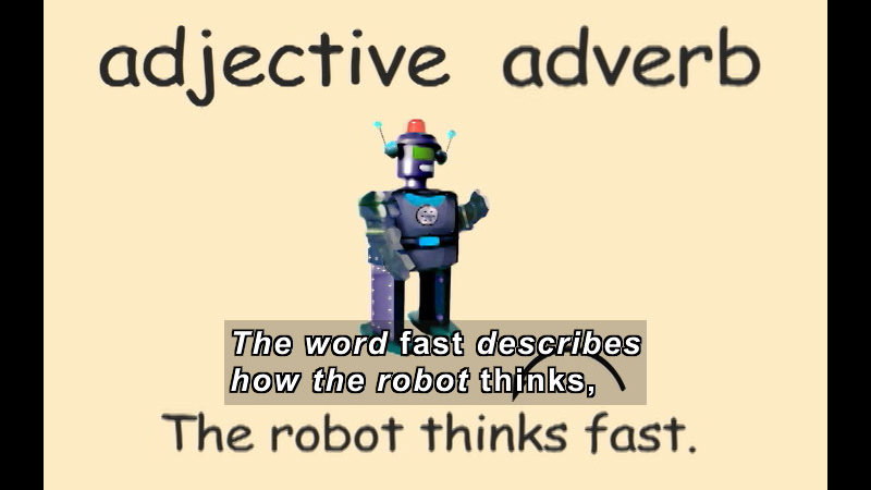 Still image from: K-3 Adjectives And Adverbs: Comparatives And Superlatives