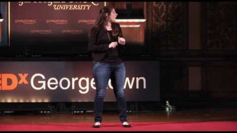 Still image from: The Heather World: Heather Artinian At TEDxGeorgetown
