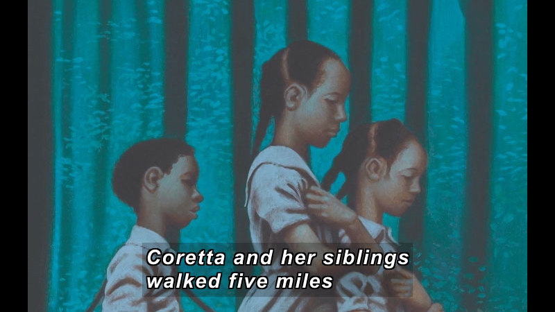 Still image from: Coretta Scott