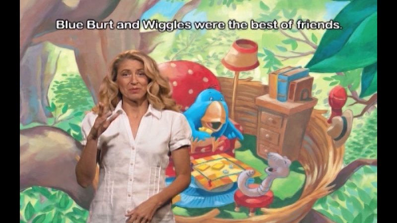Still image from: Blue Burt And Wiggles