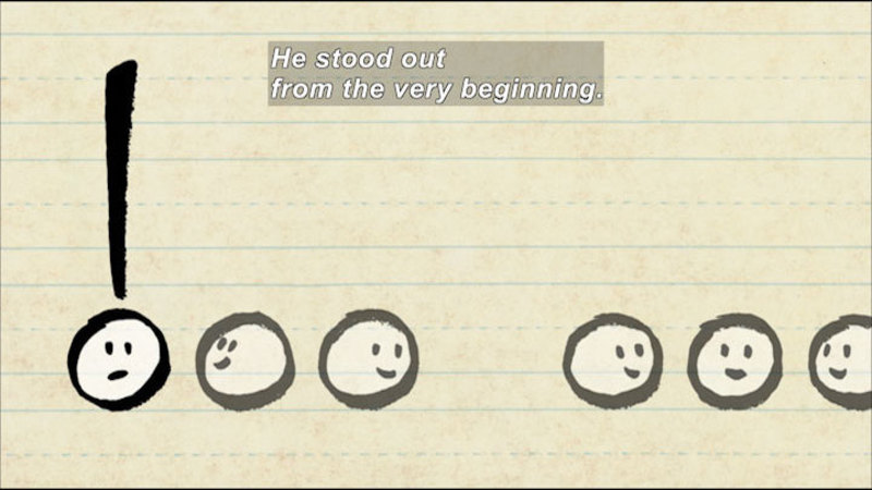 Still image from: Exclamation Mark