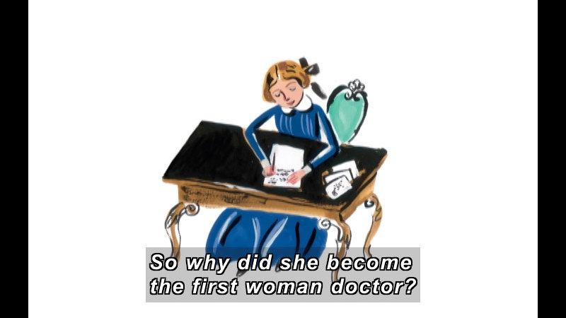 Still image from: Who Says Women Can't Be Doctors?