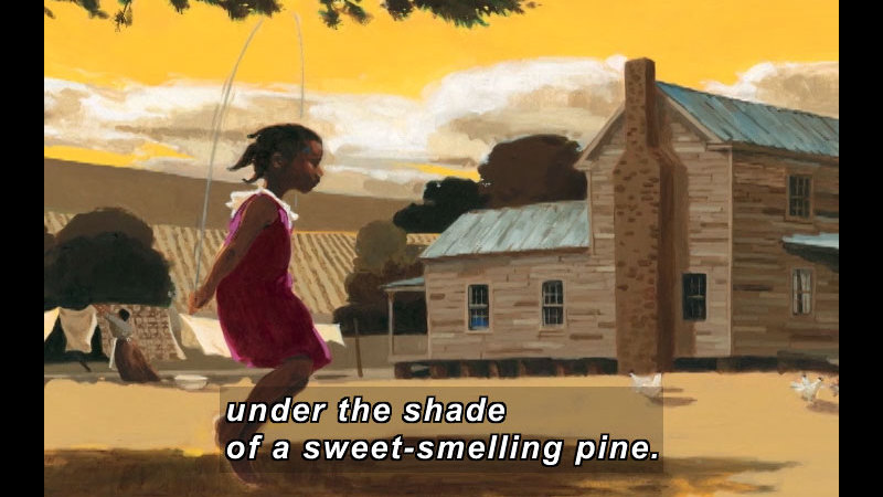 Still image from: This Is the Rope: A Story From The Great Migration